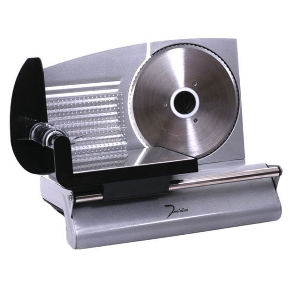 Dominion D8001 150W Food Slicer, Stainless Steel