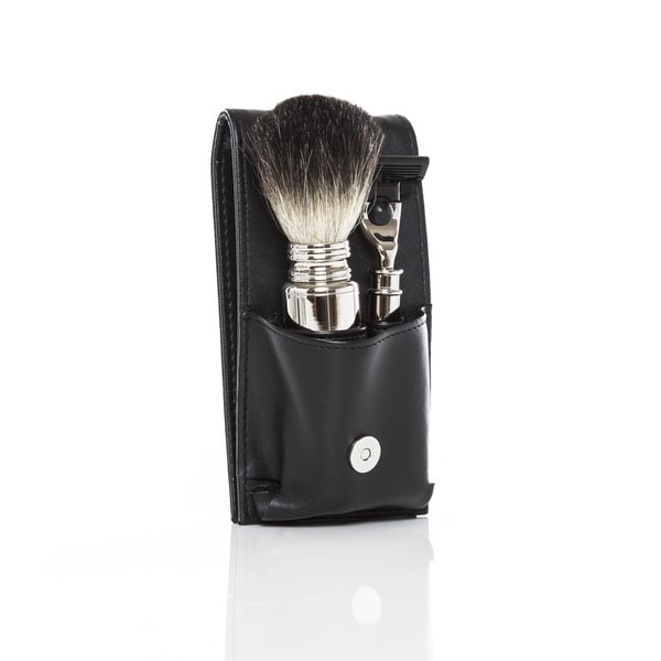 The Mason Travel Shave Set