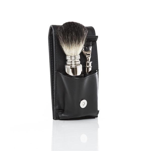 The Mason Travel Shave Set