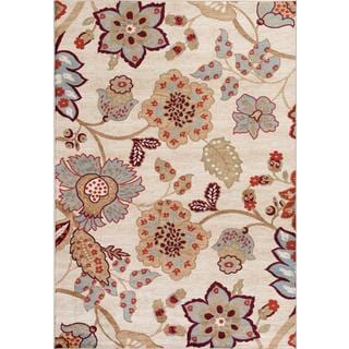 Modern Trendz Collection 1023 Ivory Rug (5'2 x 7'2)