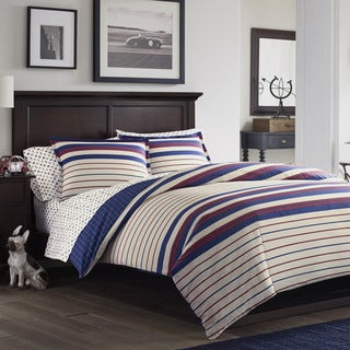 Poppy & Fritz Tucker Cotton 3-piece Comforter Set