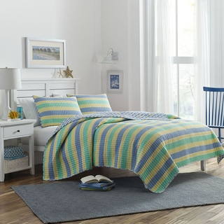 Poppy & Fritz Fish Migration Cotton 3-piece Quilt Set