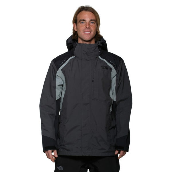 The North Face Men's Asphalt Grey and TNF Black Vortex Tri-Climate Jacket