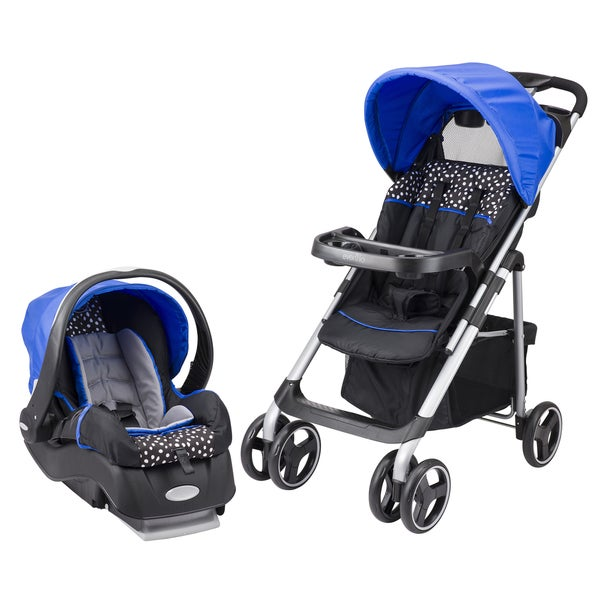 Evenflo Vive Travel System with Embrace in Hayden Dot