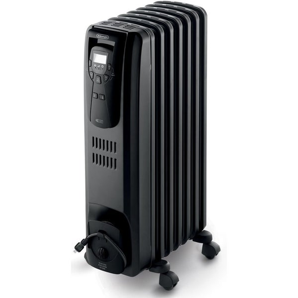 DeLonghi EW7507EB Oil Filled 1500-watt Radiator Heater