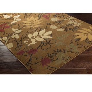 Mossy Oak : Meticulously Woven Evergreen Rug (1'11 x 3'3)