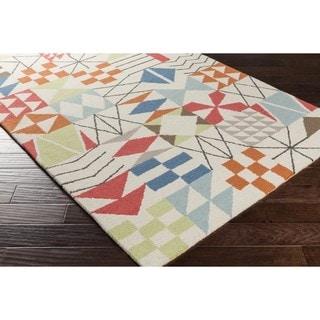DwellStudio : Hand Hooked Cuypstraat Wool Rug (8' x 10')