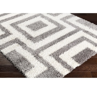 Machine Made Easy Microfiber/Polyester Rug (7'10 x 10'2)