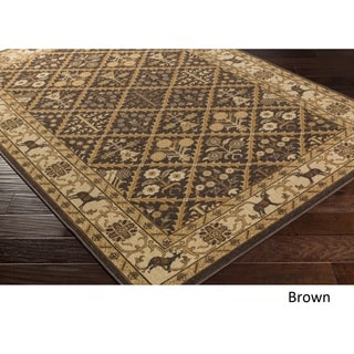 Mossy Oak : Meticulously Woven Filbert Rug (5'3 x 7'3)