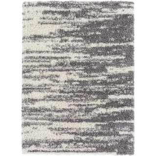 Machine Made Eastern Microfiber/Polyester Rug (5'3 x 7'3)