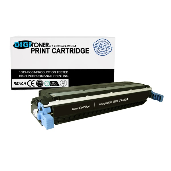 1pk Compatible HP 645a C9730a Black Color Laser Toner Cartridge for 5500 Models