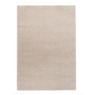 """Somette Slater Collection Beige Solid Area Rug (6'7"""" x 9'6"""")"""