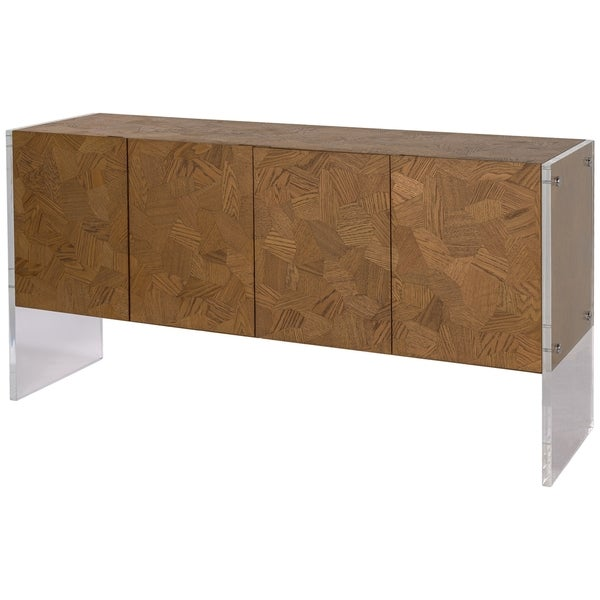 Safavieh Couture Collection Gerrard Oak Storage Sideboard