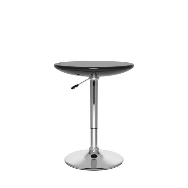 Adjustable Height Round Bar Table