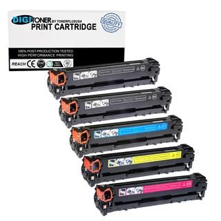 5pk Compatible HP 131a Cf210a Cf211a Cf212a Cf213a (black Cyan Yellow Magenta) Toner Cartridge for Laserjet Pro 200