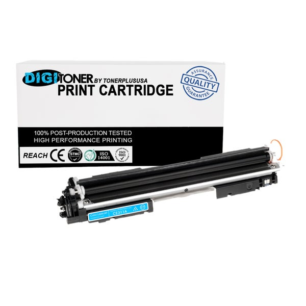 1pk Compatible HP 130a Cf351a Cyan Color Laser Toner Cartridge for M177fw M176n