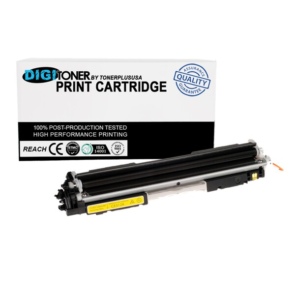 1pk Compatible HP 130a Cf352a Yellow Color Laser Toner Cartridge for M177fw M176n