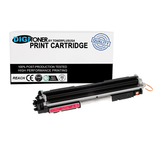 1pk Compatible HP 130a Cf353a Magenta Color Laser Toner Cartridge for M177fw M176n