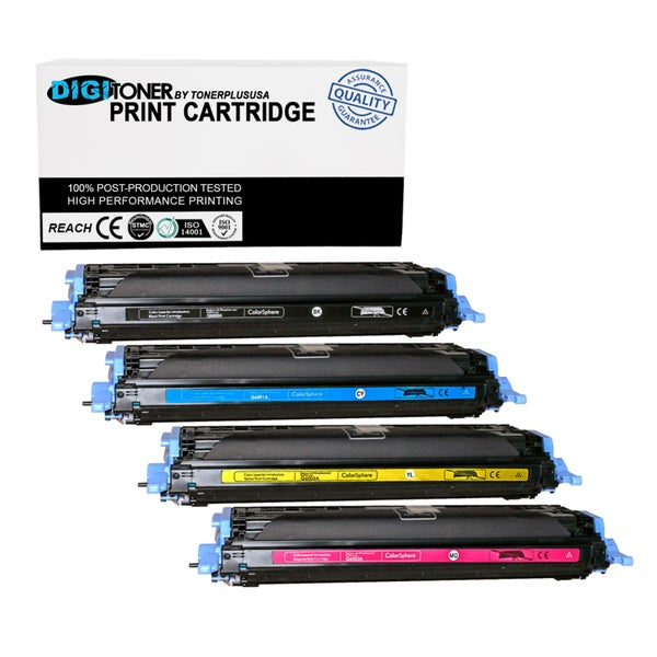 1pk Compatible HP 124a Q6003a Magenta Color Laser Toner Cartridge for Black, Cyan, Yellow, Magenta for 1600 2600n Cm1015 Cm1017