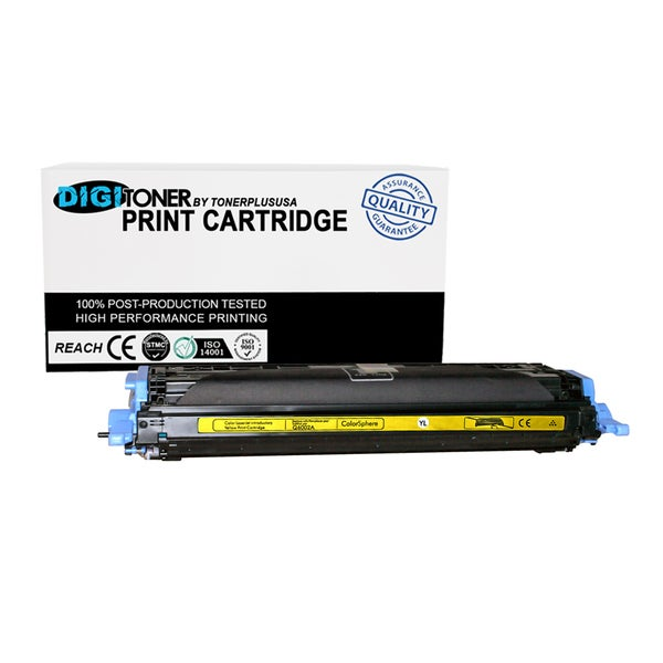 1pk Compatible HP 124a Q6002a Yellow Color Laser Toner Cartridge for M177fw M176n