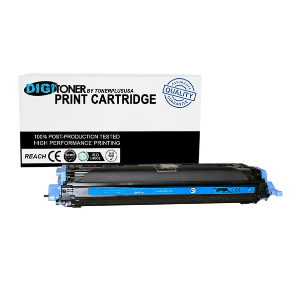 1pk Compatible HP 124a Q6001a Cyan Color Laser Toner Cartridge for M177fw M176n