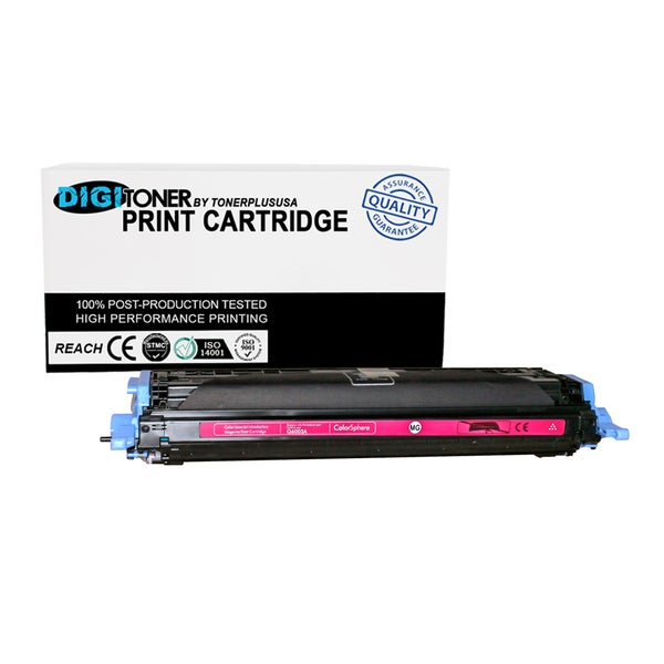 1pk Compatible HP 124a Q6003a Magenta Color Laser Toner Cartridge for M177fw M176n