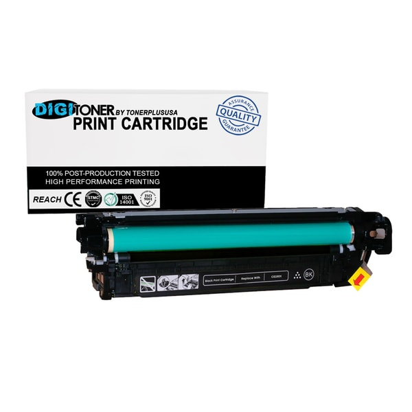 1pk Compatible HP 504a Ce250x Black High Yield Color Laser Toner Cartridge for Cm3530 Cp3525 Series