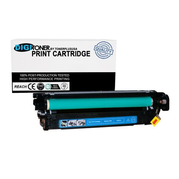 1pk Compatible HP 504a Ce251a Cyan Color Laser Toner Cartridge for Cm3530 Cp3525 Series