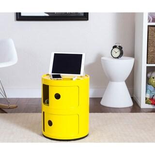 Somette Gavins Room Yellow 2-Compartment Storage Unit
