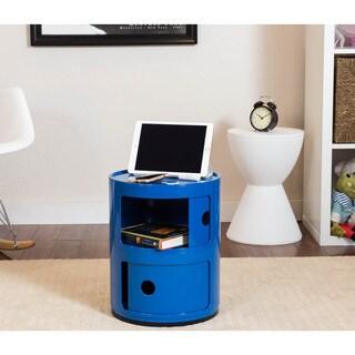 Somette Gavins Room Blue 2-Compartment Storage Unit