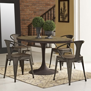 "Drive 60"" Oval Wood Top Dining Table"