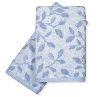 Peri Home Vines Fingertip Towels (Set of 2)