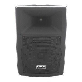 Podium Pro Audio PP1007A Bluetooth 10-inch Active Speaker MP3 USB SD 500 Watts