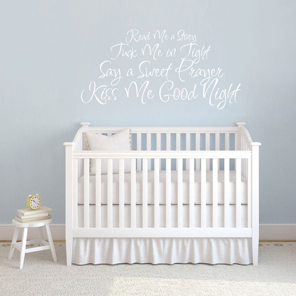 Read Me Story Wall Decal 36-inch wide x 18-inch tall