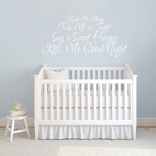Read Me Story Wall Decal 26-inch wide x 13-inch tall