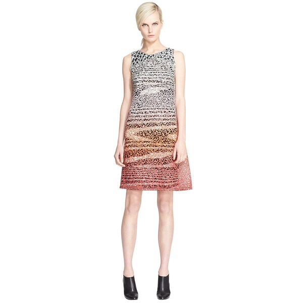 Missoni Sleeveless Macrame Lace Shift Cocktail Dress