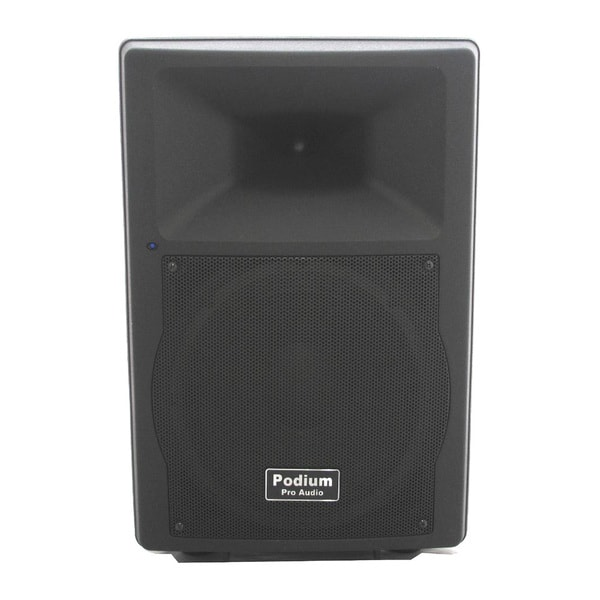 Podium Pro PP1207A Bluetooth 12-inch Active Speaker PA DJ Karaoke MP3 600 Watts