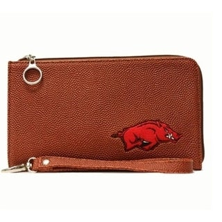 University of Arkansas Razorbacks Zip-closure Wrist Bag