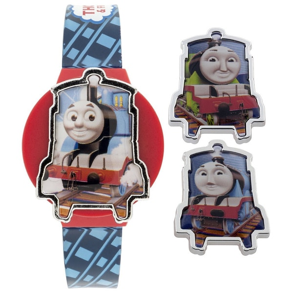 Thomas and Friends Thomas the Tank LCD Watch with Interchangeable Tops