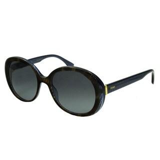 Fendi FF0001 Women's Oval Sunglasses