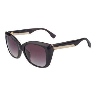 Fendi 0019 Women's Oversize Geometric Sunglasses