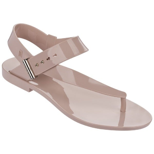 Melissa + Jason Wu Charlotte Pink Jelly Sandals