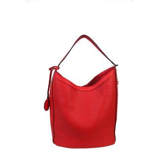 Diophy Faux Leather Large Bag in Bag Hobo Handbag