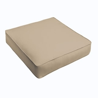 Sloane Beige Corded Indoor/ Outdoor Square Cushion