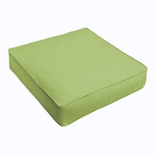 Sloane Apple Green Corded Indoor/ Outdoor Square Cushion