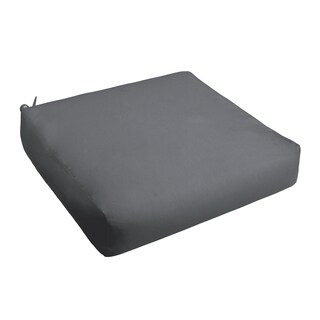 Sloane Charcoal Indoor/ Outdoor Square Cushion