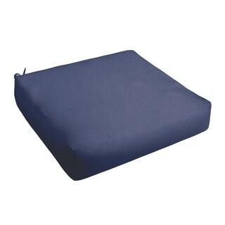 Sloane Dark Blue Indoor/ Outdoor Square Cushion