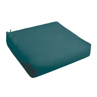 Sloane Teal Indoor/ Outdoor Square Cushion