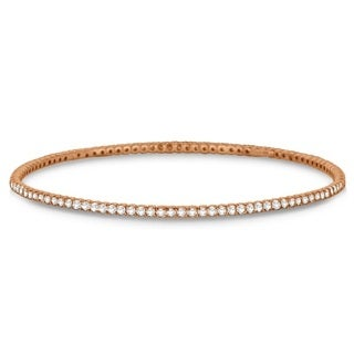 14k Gold 1.25ct Stackable Diamond Bangle Eternity Bracelet (G-H, SI1-SI2)