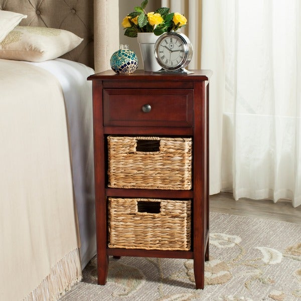 Safavieh Everly Cherry Drawer Storage Side Table 17217609